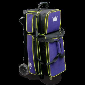 Brunswick Crown Deluxe Triple Roller Purple Yellow