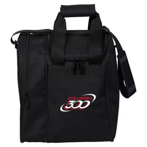 Columbia 300 Single Tote Black Bowling Bag